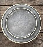 Camping Geschirrset für 4 Personen Grau aus Melamin Picknick Geschirr Campinggeschirr Tafelgeschirr - 7