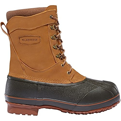 """LaCrosse Pac Boots Ice King 10"""" Height Brown 400G (600014) 