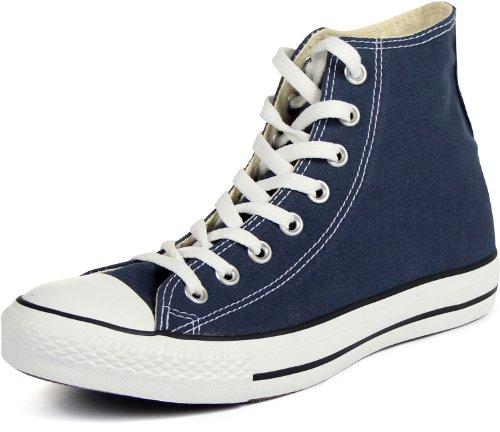 Mens Converse All Star Hi Top Chuck Taylor Chucks Sneaker Trainer - Navy - 11