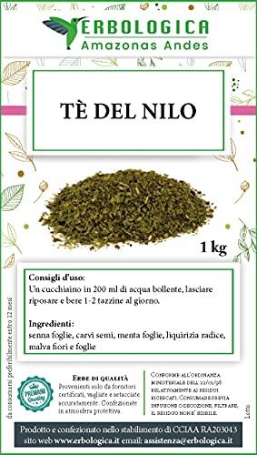 Tè del Nilo 1 kg, favorisce il transito intestinale e contrasta la formazione di gas intestinale.