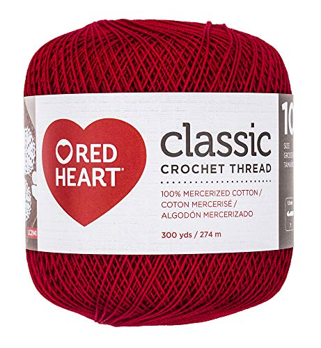Coats Crochet Classic Crochet Thread, 10, Victory Red