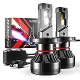 Bombilla H4 9003 HB2 Alto/Bajo LED Coche, OUSHI 110W 2x10000LM 6500K Xenon Blanco 12V Súper Brillante LED Bombillas Faros Delanteros para Coches Kits de Conversión (Paquete de 2)