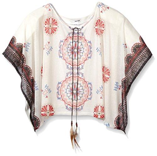 Tally Weijl Damen ASCPIVOINE Schal, Elfenbein (Off White AQ), One size
