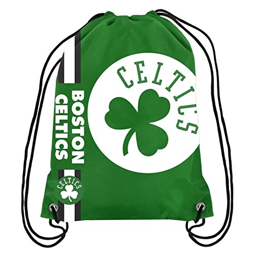 Boston Celtics NBA Big Logo Drawstring Backpack