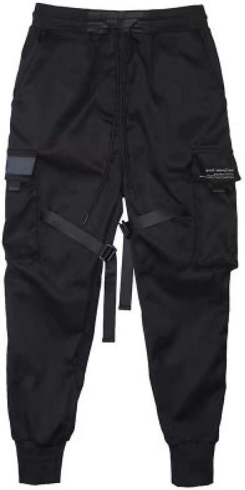 N A Pantalones Cargo Hip Hop Para Hombre Pantalones Jogger De Cintura Elastica Amazon Com Mx Ropa Zapatos Y Accesorios