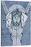 HHLSS Cuadros de Pared 40x60cm sin Marco Jesucristo Buen Pastor póster Pintura Decorativa Lienzo Arte de Pared Carteles de Sala de Estar Pintura de Dormitorio