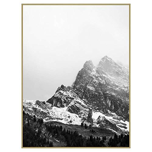 Frame It Easy 30 x 40 Gloss Gold Metal Frame (Ashford)
