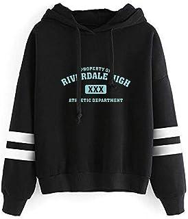 YMIAO Donna Uomo Abbigliamento Sportive Southside Serpents Bambini e Ragazzi Ragazze Stampata Comoda Tinta Unita Riverdale...