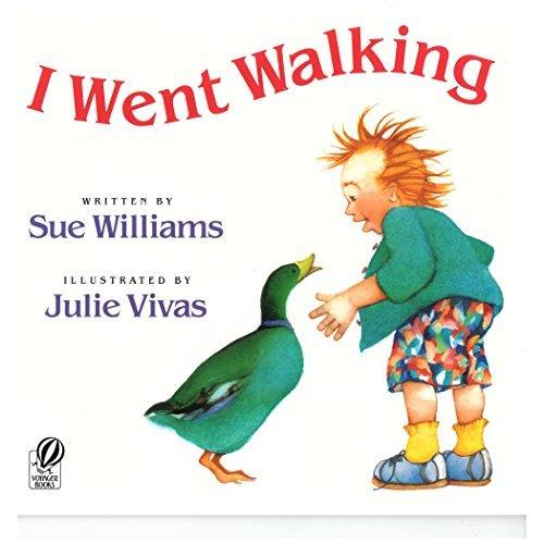 I Went Walking (HBJ Big Books) by Williams Sue (1991-05-15) Paperback