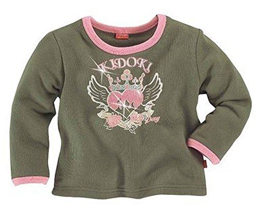 Kidoki Sweatshirt rosa Glitzer Shirt 116/122