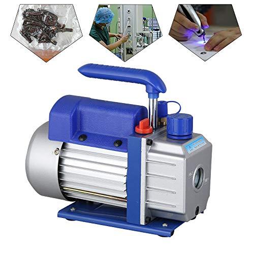 Vakuumpumpe 2.5CFM 1/4HP einstufige Dreh Unterdruckpumpe Vakuum Pumpe Vakuumpumpe Kompressor Unterdruckpumpe Klimaanlagen Vacuum Vacuumpumpe