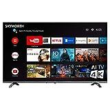 Skyworth 50 Inch Ultra 4K HDR Smart TV, Support – Chromecast - Alexa Echo - Google Home, Android TV - Q20300