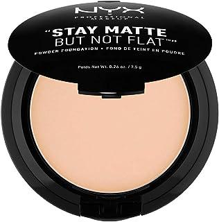 Nyx Cosmetics Stay Matte But Not Flat Powder Foundation - Natural, 3.2 oz