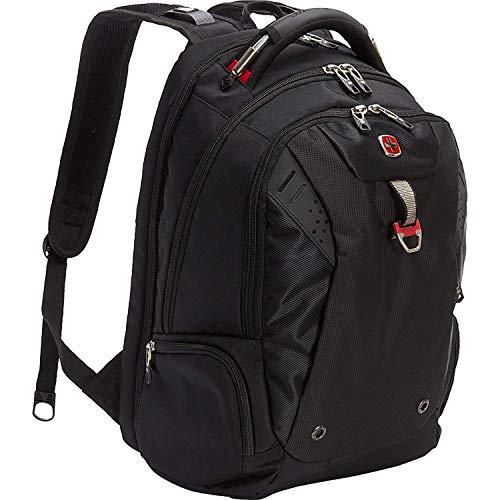 SwissGear Travel Gear Scansmart Backpack - Black / Red