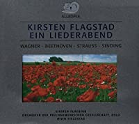 Kirsten Flagstad Ein Liederabend-Works By Wagnerbe