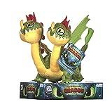 DreamWorks 12436 How to Train Your Dragon 3 Kotz und Würg Plüsch-32cm Plüsch, Multi