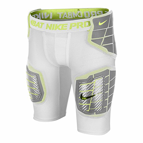 Nike Pro Hyperstrong Hardplate Fitted Boys' Football Shorts (Small, White)