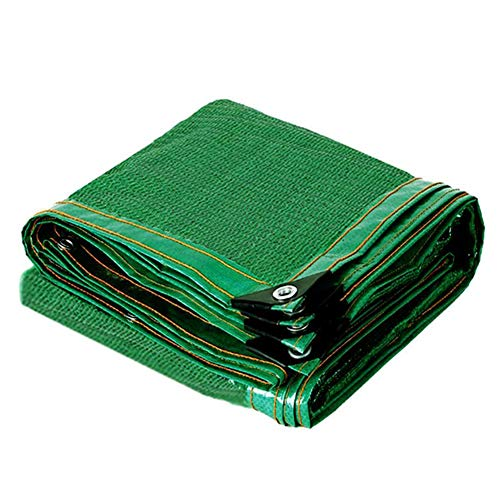 xxz Cosecha 70% Tela de Sombra Verde con Ojales, Pantalla de privacidad de Malla de Cerca, Lona de Malla Resistente, antienvejecimiento, para Plantas, Patio, gallinero