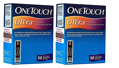 ONE TOUCH ULTRA STRIPS PACK OF 2