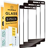 [3-PACK]-Mr.Shield Designed For Nokia 6.1 (Nokia 6 2018) [Japan Tempered Glass] [9H Hardness] [Full Cover] Screen Protector with Lifetime Replacement