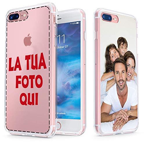 UrbanKaos Cover Personalizzata con Foto in Gomma Morbida Resistente ad Urti, Protegge Tutti i Lati (iPhone 11)