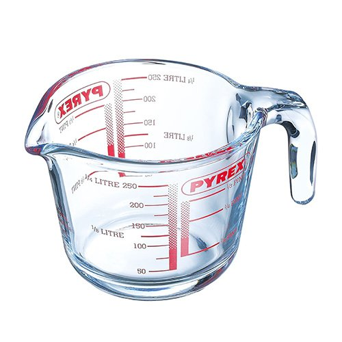 Pyrex Classic 0.25L Measuring Jug - Pyrex glass is hygienic and will not absorb stains or odors.