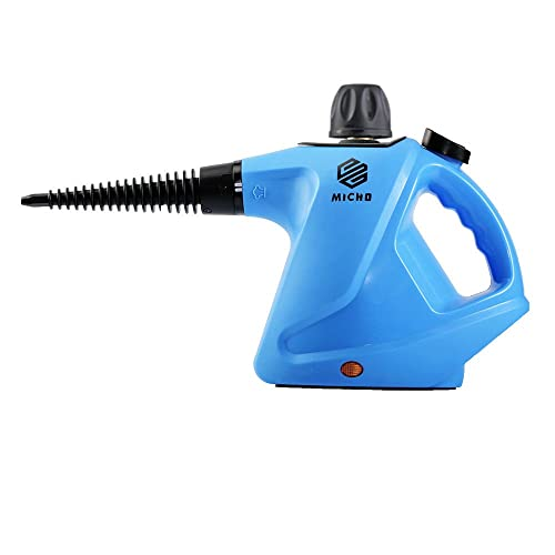 Micho Newest Handheld Steam Cleaner 450 Milliliter, Multi-Purpose Pressurized Steamer for Stain Removal