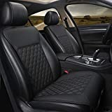 Black Panther 1 Pair Car Seat Covers, Luxury Car Seat Protectors,...