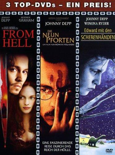 Johnny Depp Box [3 DVDs]