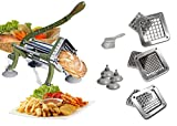 Tiger Chef Heavy Duty Potato French Fry Cutter Commercial Quality -...