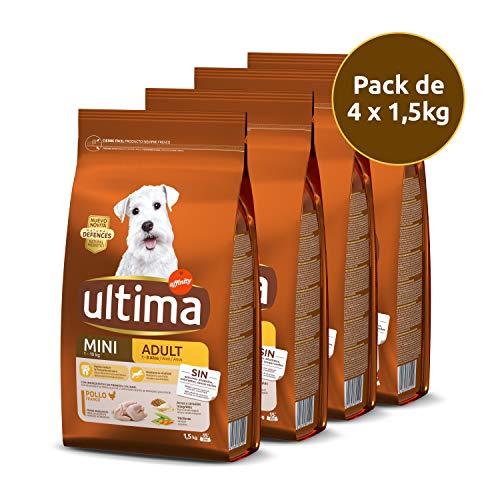Ultima Pienso Perros Mini Pollo - Pack 4