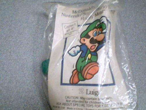 1989 Nintendo of America, Inc. McDonald's Happy Meal Toy Nintendo Super Mario Brothers Luigi Kids Meal Toy McD#89-234