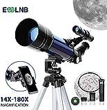 ESSLNB Telescopio Astronomico 70mm Telescopio Astronomico Bambini con Adattatore Telefonic...