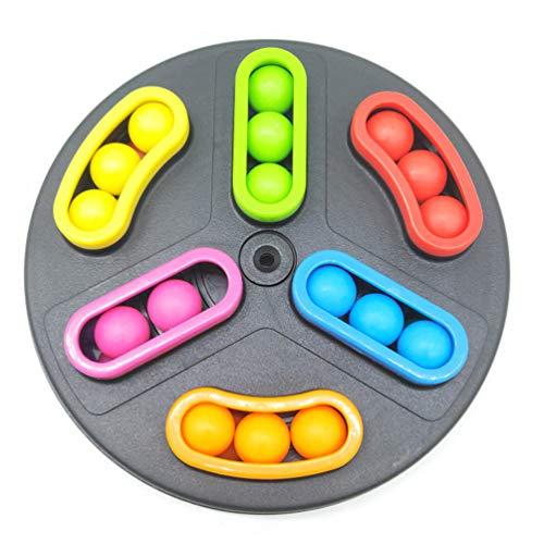 TOYANDONA 1 Doos Doolhof Balspel 3D Magische Puzzel Kinderen Training Logisch Denken Desktop Game Speelgoed Kind Kinderen Brain Teaser Speelgoed Voor Thuiskwekerij (Willekeurige Kleur)