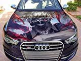 "Stikka Vinyl Car Hood Wrap Full Color Graphics Decal Anime Manga Tokyo Ghoul Sticker #3 33,5""x55"" (85cm x 140cm)"