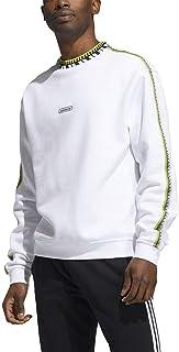 adidas Men's Rib Detail Crew Sport Jacket