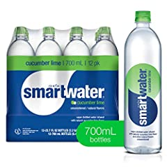 Premium water with added electrolytes for a pure, crisp taste Natural fruit-flavored water with no sugar and no calories Refreshing hydration at the office, on your commute, or anywhere you need to take a beat to recharge. Twelve (12) 700ml bottles V...
