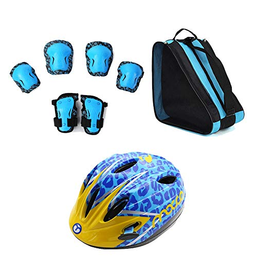 Find Discount HUANJIA Multi-Sport Kids Helmets,Helmets for Kids 5-8,Children's Safety Bike Helme...