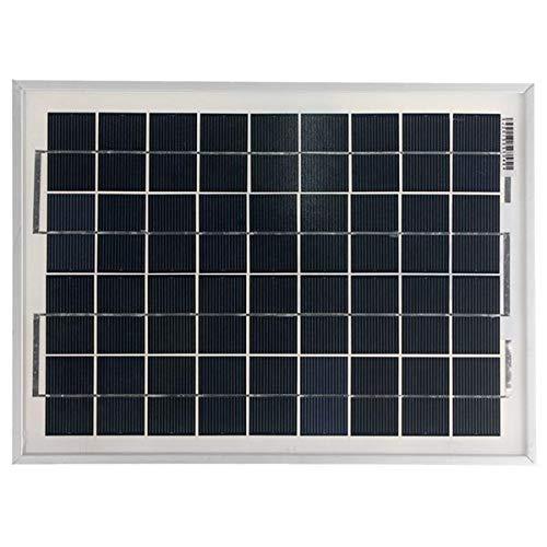 MING-MCZ Duradero Energía del Panel Solar Cargador de batería de 12V 10W policristalino 340x250x17mm Fácil de Montar