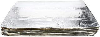 funihut Selbstklebende Alubutyl Anti Dröhn Dämmmatte(12er Pack), Auto Dämmung, 30 x 50cm Jeweils(Insgesamt 30 x 600cm)(Lärmschutz, Schalldämmung und Schallschutz für Kfz)