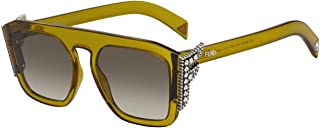 Fendi FENDI FREEDOM FF 0381/S YELLOW BROWN/BROWN SHADED 55/19/140 women Sunglasses