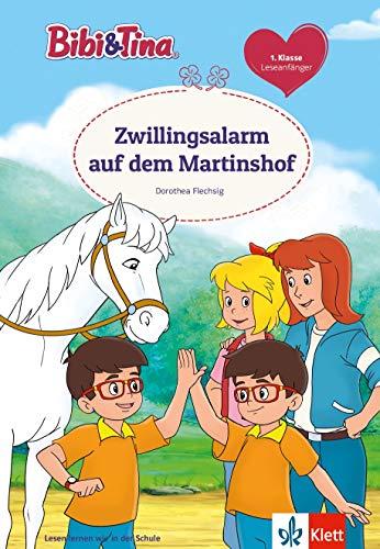 Bibi & Tina: Zwillingsalarm auf dem Martinshof, 1. Klasse, ab 6 Jahren (Lesen lernen mit Bibi und Tina): Leseanfänger 1. Klasse, ab 6 Jahren
