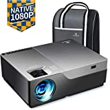 "VANKYO 2020 Upgraded Performance V600 Native 1080P Projector,300"" Display Portable Movie Projector,50,000 Hrs"