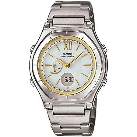[カシオ] 腕時計 ウェーブセプター 電波ソーラー LWA-M160D-7A2JF シルバー