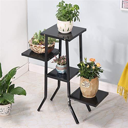 G-HJLXYZWJHOME multifunctioneel apparaat van smeedijzer, standaard van smeedijzer, voor woonkamer, balkon, voorgerechten, meubels, opbergen, bloemenstandaard