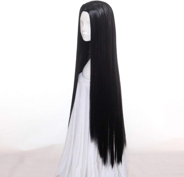 DDDMMM Schwarze Frauen Weibliche Lange Gerade Glatte Zurückgestylte Synthetische Haar Cosplay Perücken B07PVX5CBW Ein Gleichgewicht zwischen Zähigkeit und Härte     | Ruf zuerst