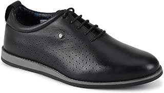 Van Heusen Men's Leather Sneakers
