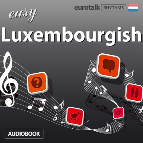 Rhythms Easy Luxembourgish audiobook cover art