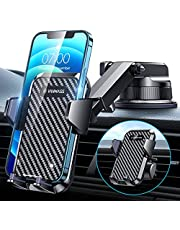 $21 » [2021 Upgraded] VANMASS Car Dashboard Cell Phone Holder Mount [Super Suction Cup] Compatible for iPhone 13 Pro Max 12 11 X Xr Xs 8 7 Plus Mini Se Universal Windshield Dash Vent Handsfree Cradle Stand