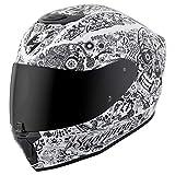 Scorpion Unisex-Adult Full-face-Helmet-Style Shake (White, X-Large) - 75-1135X